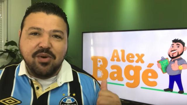 Alex Bagé, da Band, revela que é torcedor do Grêmio