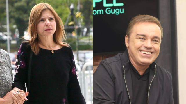 Viúva de Gugu alega ser solteira e fez acordo com o apresentador para ter filhos
