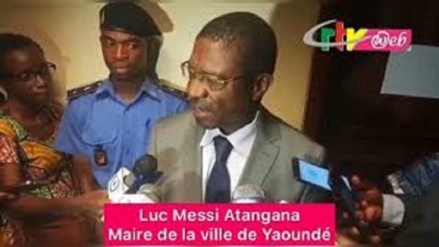 Le Maire de Yaoundé a visité l'autoroute Yaoundé-Nsimalen