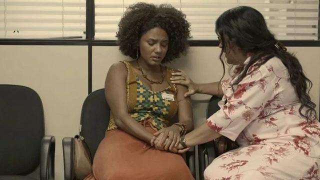 'Amor de Mãe':Camila sofre por ser excluída por Danilo e Thelma dá a luz ao seu filho