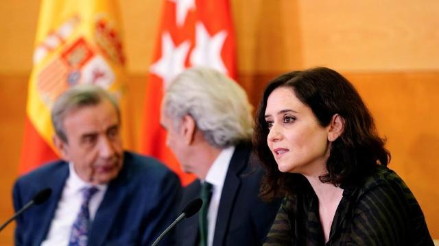 Isabel Díaz Ayuso da positivo en el test de COVID-19