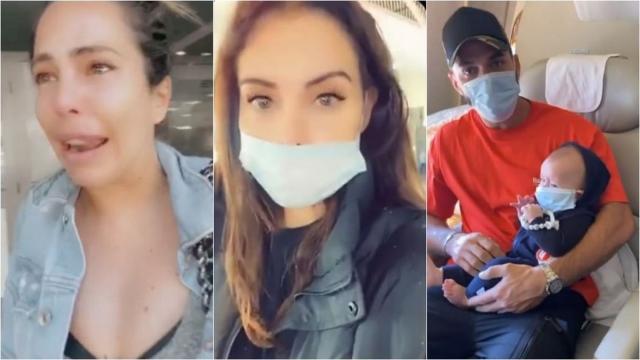 Kim Glow en pleurs et coincée en Tunisie, Nabilla et Thomas rapatriés en urgence