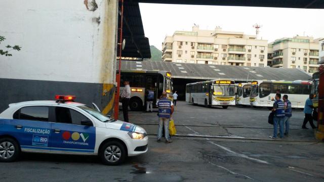 Por conta do coronavírus Rio de Janeiro proibi passageiros em pé nos ônibus
