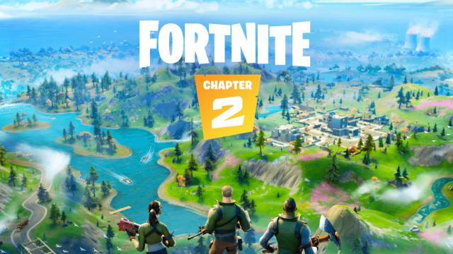 Latest 'Fortnite' update includes major map changes