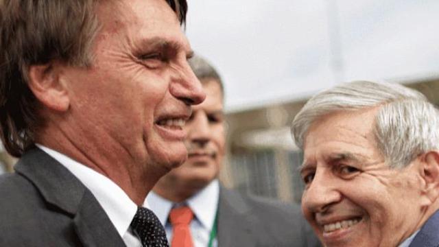 Ministro Heleno, que esteve em comitiva de Bolsonaro, testa positivo para coronavírus