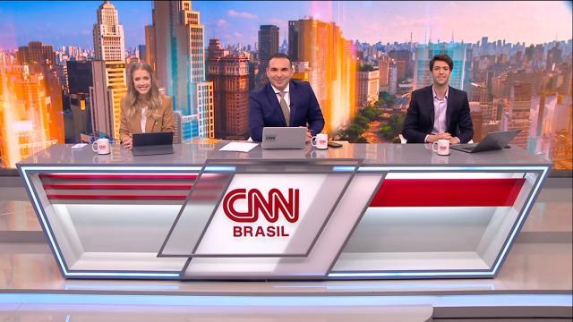 Gabi Prioli empolga a web em debate com Caio Coppola pelo canal CNN Brasil
