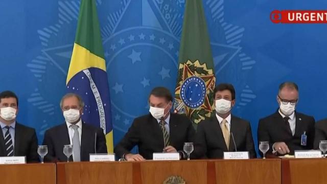 Coronavírus: Governo Federal pede ao Congresso que reconheça calamidade pública