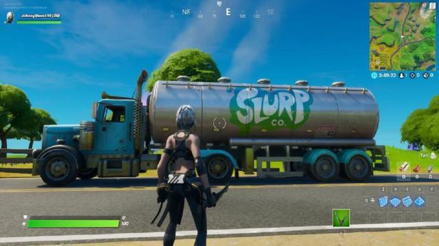 'Fortnite' Slurp trucks secretly nerfed with the v12.20 update