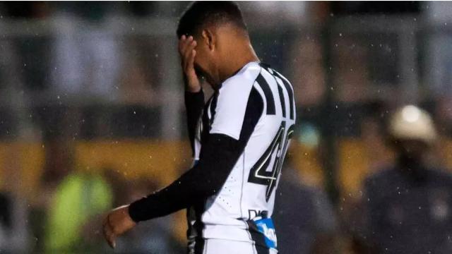 Santos deve rescindir com Diogo Vitor por justa causa