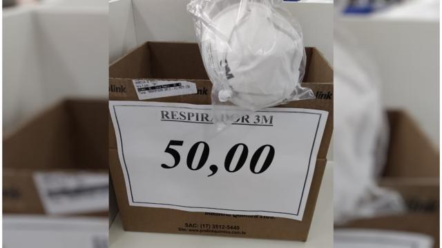 Comerciante é preso por vender máscaras a 50 reais