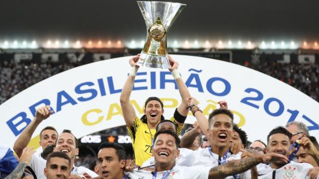 Os últimos cinco campeões brasileiros