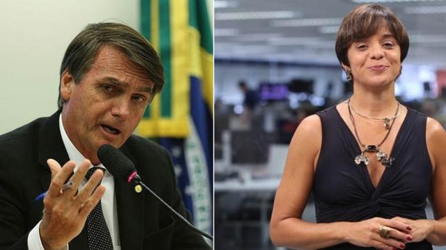 Deputados apoiadores de Bolsonaro atacam a jornalista Vera Magalhães