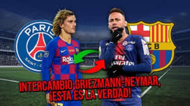 PSG : vers un échange Griezmann - Neymar