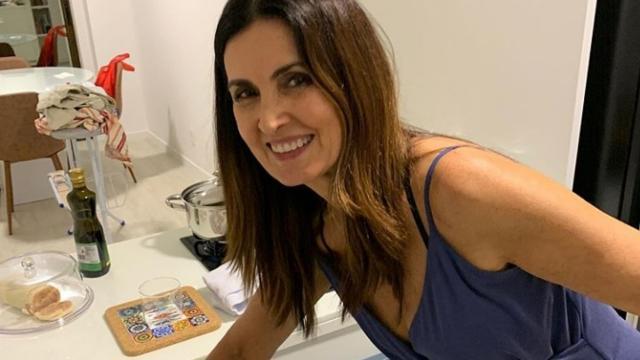 Fátima Bernardes se encontra em isolamento social com seu namorado Túlio Gadêlha