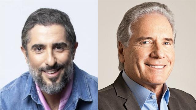 Marcos Mion fala sobre suposta briga com Roberto Justus