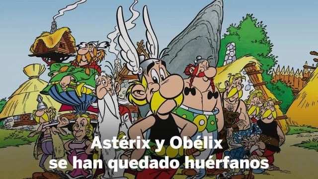 El dibujante de 'Astérix y Obélix'. Albert Uderzo, fallece a los 92 años