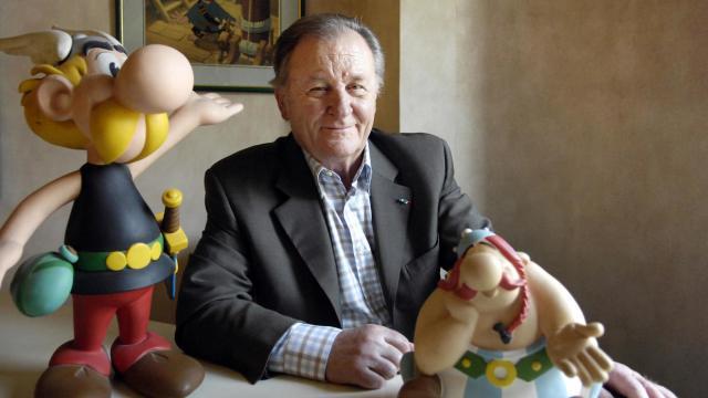 Quadrinista criador de Astérix morre aos 92 anos