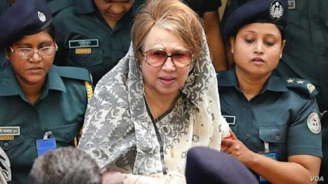 Bangladesh to free former PM Khaleda Zia for six months from prison