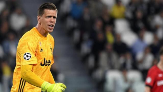 Juventus, Szczesny si sta allenando per farsi trovare pronto