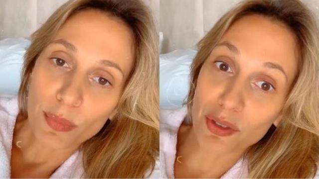 Luisa Mell vai as redes sociais pedir oração para seu marido: 'não está melhorando'