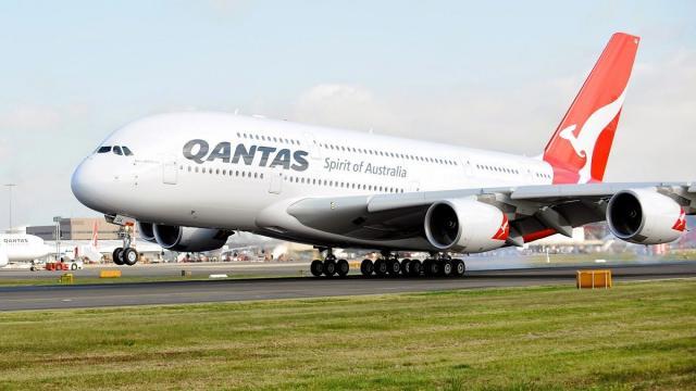 Qantas A380 makes historic direct flight from Australia to London