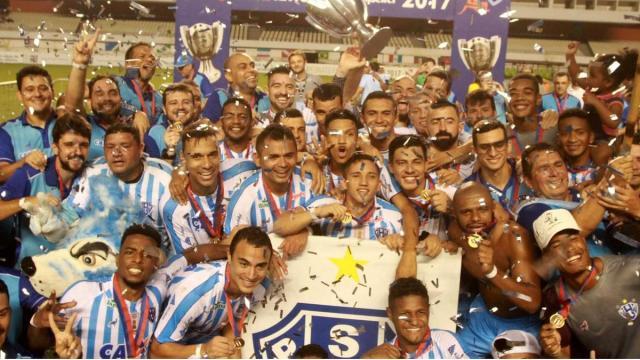 Os cinco maiores campeões estaduais do Brasil
