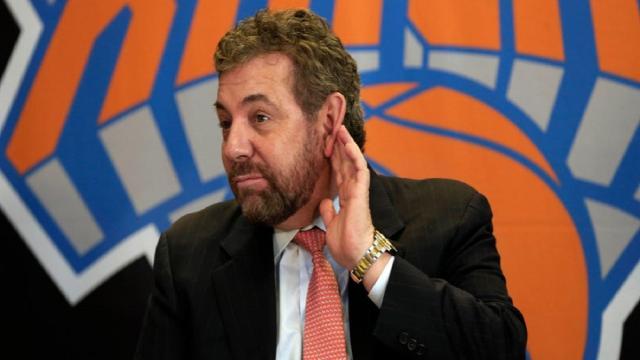 Knicks and Rangers' owner James Dolan tests positive for coronavirus