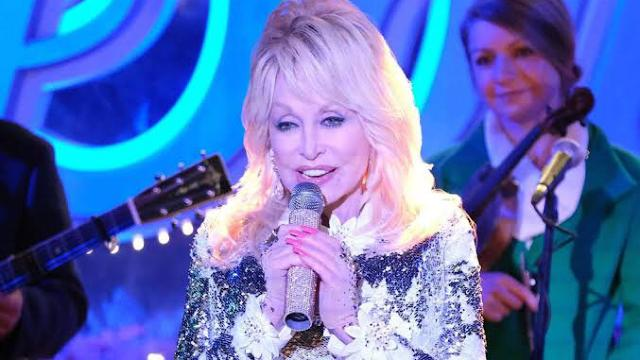 Dolly Parton urges her fans to remain positive through coronavirus siege