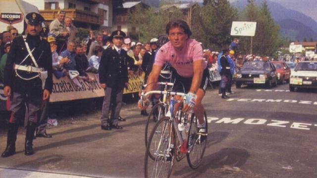 Schepers ricorda il Giro d'Italia del 1987 e racconta la 'guerra' tra Roche e Visentini