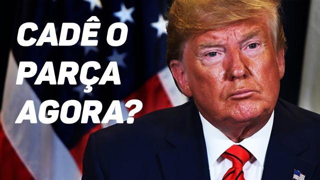Trump elogia conduta de Bolsonaro mas faz alerta sobe coronavírus no Brasil