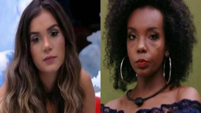 BBB20: Gizelly faz comentário sobre maquiagem de Thelma e é acusada de racismo