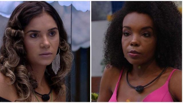 'BBB20': Gizelly é acusada de racismo por tirar sarro de maquiagem de sister
