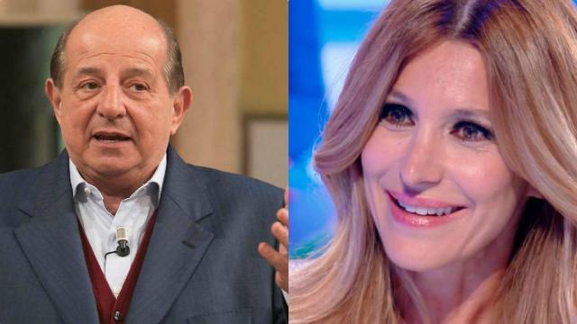 Giancarlo Magalli fa un tentativo di rappacificamento con Adriana Volpe