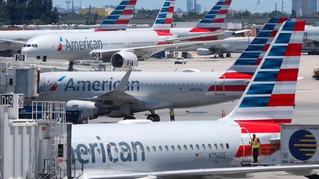 American Airlines cuts international flights but not its domestic service