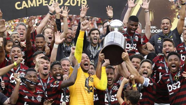 Os seis últimos times brasileiros a serem campeões da Copa Libertadores