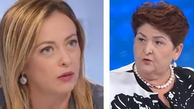 Giorgia Meloni non approva la posizione espressa da Teresa Bellanova