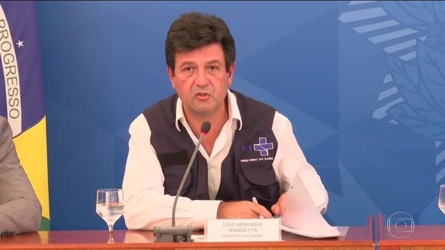 Luiz Henrique Mandetta afirma que continuará no Ministério da Saúde