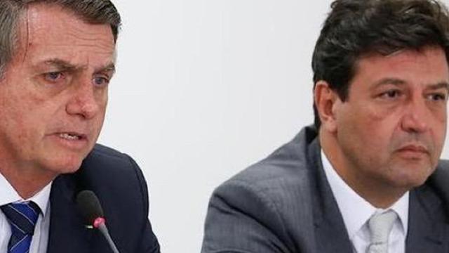COVID-19: Bolsonaro alerta Mandetta: 'você vai matar o pessoal de fome'