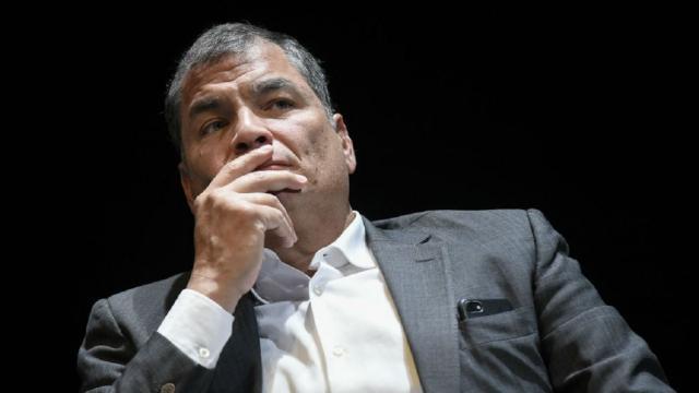 Ecuador ex-president Correa jailed for eight years