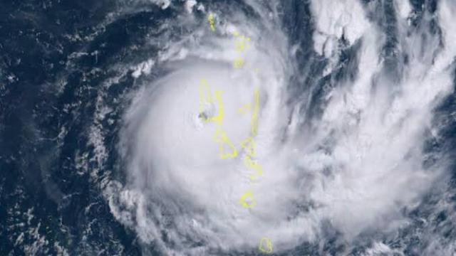 Cyclone Harold strikes the Vanuatu and destroys lives and properties