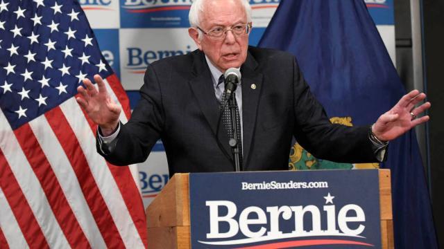 Bernie Sanders renuncia a la Casa Blanca para liderar el partido demócrata
