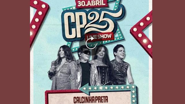Calcinha Preta fará live com os melhores sucessos da banda