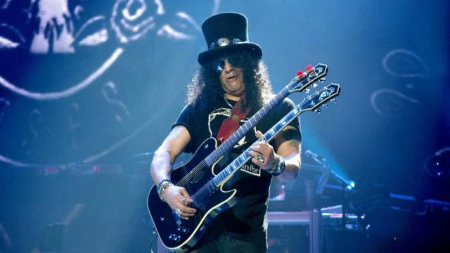 Vasco Rossi ha collaborato con Slash in 'Gioca con me'