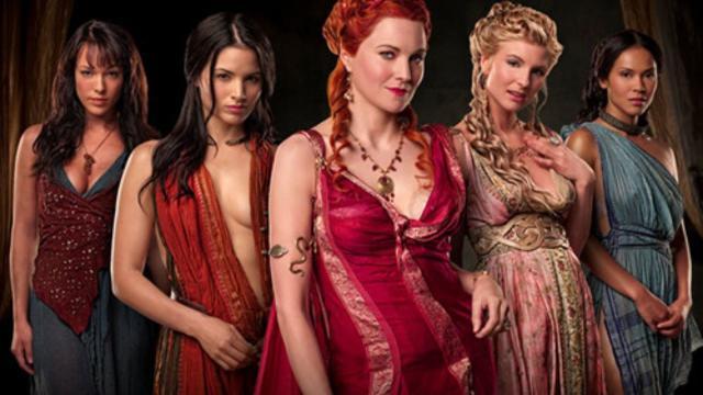 6 atrizes que se marcaram na série 'Spartacus'
