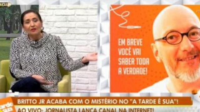 Brito Júnior e Felipeh Campos discutiram no programa Sônia Abrão. 'você é falso'
