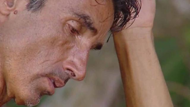 Supervivientes: Hugo Sierra nervioso y obligado a separarse de Ivana Icardi