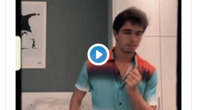 Namorado de Manu Gavassi faz dancinha e desafia Bruna Marquezine