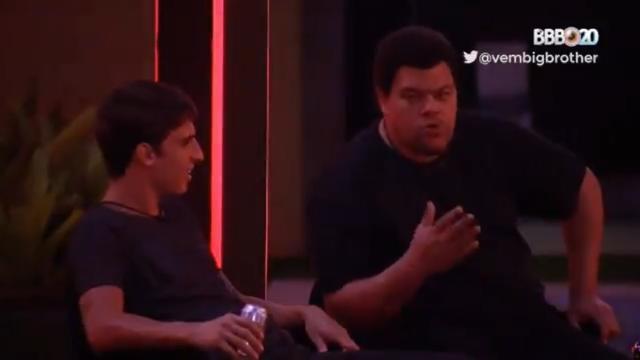 'BBB 20': Felipe Prior critica aliança entre Babu, Rafa e Thelma