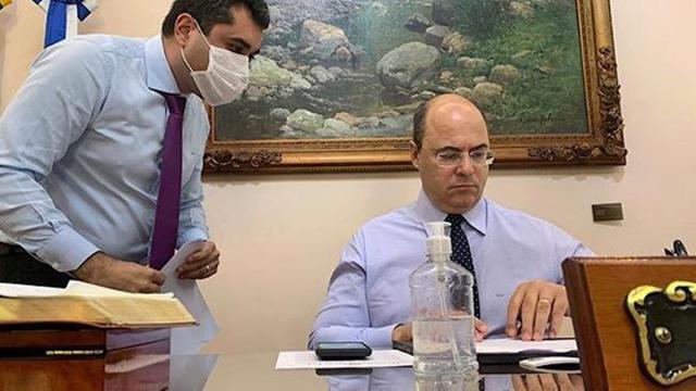 Wilson Witzel anuncia que está com coronavírus e relata sintomas