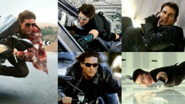 A Saga ' Missão Impossível' com Tom Cruise